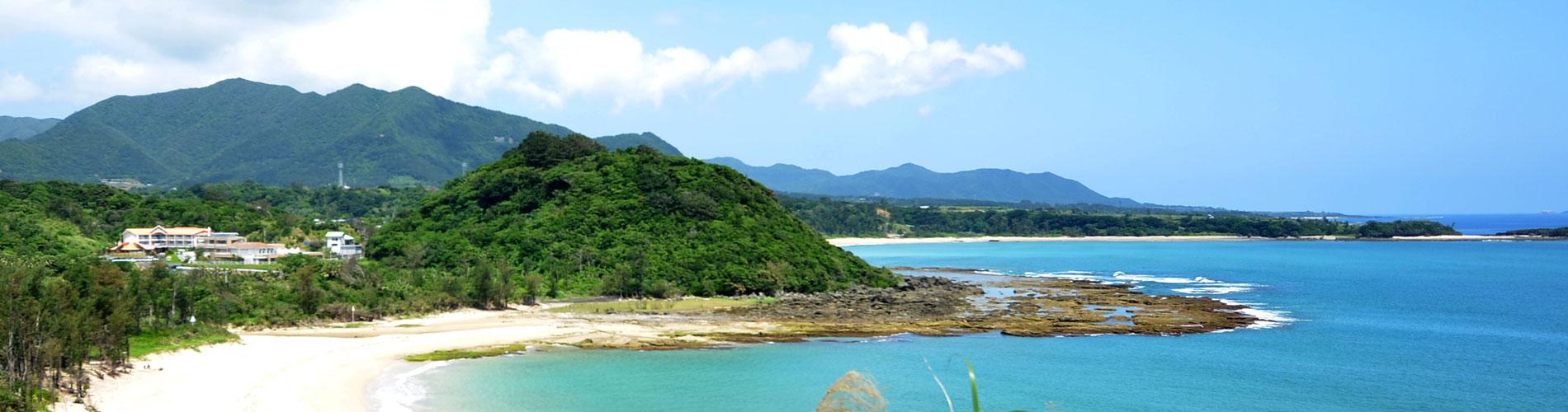 徳之島町 里久浜
